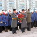 Торжественное открытие мемориальной доски Герою Советского Союза  Ивану Самсоновичу Гаврилову.