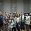 Струны души:  Татьяна Канова, Григорий Спичак и Альфия Коротаева  в Центральной городской библиотеке